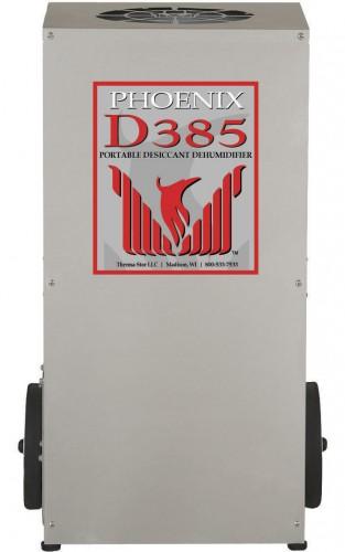 Phoenix D385 Portable Desiccant Dehumidifier Click to enlarge. Desiccant Dehumidifiers     Phoenix D385 Portable Desiccant