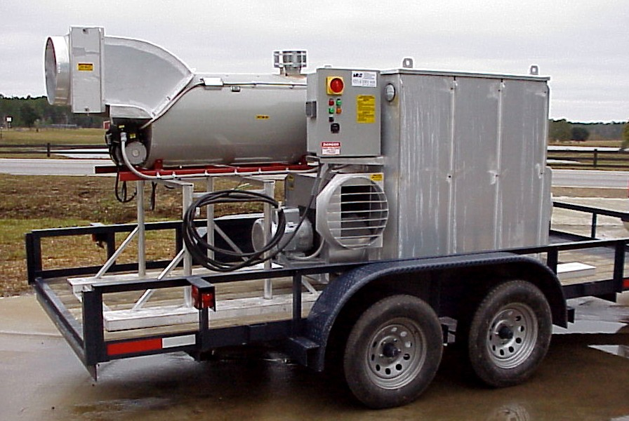 Trailer Mounted Desiccant Dehumidifier